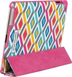 Jonathan Adler Stepped Diamonds iPad Case with Smart Cover