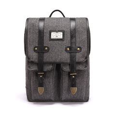 a74d9dd8f40 ANTIQUE CLASSIC BACKPACK HERRINGBONE SPECLAL EDITION LODIS