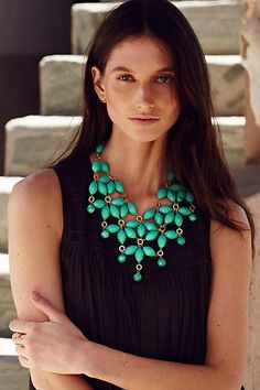 Vetula Bib Necklace - anthropologie.com #anthrofave