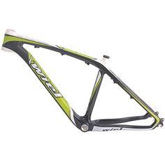 Wiel B124 Full Carbon Fiber Mountain Bike Frame Enbb MTB Frameset - 3k Glossy Green 17in Wiel Cycling http://www.amazon.com/dp/B00SSYU2US/ref=cm_sw_r_pi_dp_BxGTvb1VV07FM