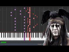 El llanero Solitario Theme/ William Tell Overture End.   Piano Arregment Synthesia - YouTube