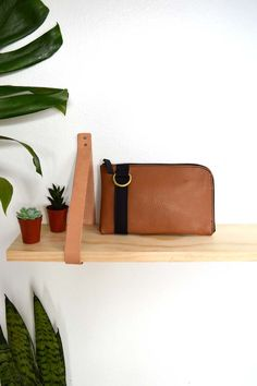 The Buffy Bot Small Wallet in Tan
