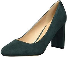 Franco Sarto Womens Vanity Pump Spruce 85 M US ** Click on the image for additional details. (This is an affiliate link)
