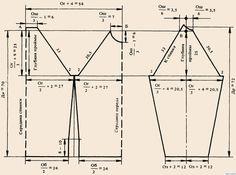 выкройка вышиванки реглан - Поиск в Google