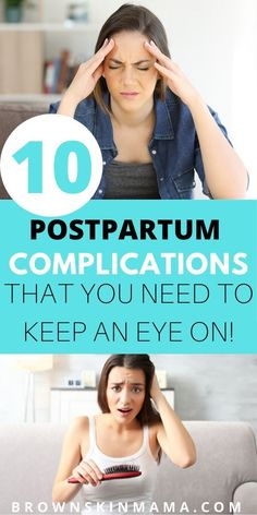 Postpartum complications can arise after you have a baby. I have listed 10 of the most common type of complications that can arise after pregnancy. Postpartum Recovery, Postpartum Care, Healing From C Section, Belly Binding, Prevent Hair Loss, After Baby, After Pregnancy, Breastfeeding Tips, Tips