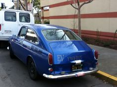 1968 VW Type 3 Fastback at the Albany Library