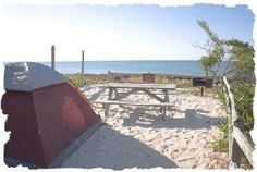 Florida Camping in the Great Outdoors. If you have never camped near the beach in Florida you absolutely need to try it! Waking up to the sunrise over the sea and the sound of waves crashing at night is a true pleasure.