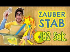 Zauberstab in 82 Sekunden basteln - Achtung, fertig, Bastelkiste 1 - YouTube