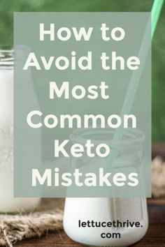 Are you making any of these critical errors on keto? Read how what the most comm… Are you making any of these critical errors on keto? Read how what the most common keto mistakes are and how to avoid them. Cyclical Ketogenic Diet, Ketogenic Diet Weight Loss, Ketogenic Diet Meal Plan, Ketogenic Diet For Beginners, Keto Diet For Beginners, Ketogenic Foods, Keto Meal, Ketosis Diet, Ketogenic Lifestyle