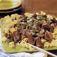 Beef With Red Wine Sauce | MyRecipes.com