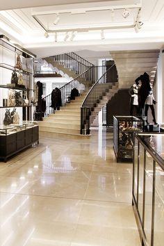 Retail Design | Store Interiors | Shop Design | Inside Burberry 121 Regent Street, London, the new Burberry World Live Flagship