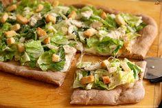 Mozzarella, Pizza Lasagna, Tacos, Mexican, Pasta, Ethnic Recipes, Food, Caesar Salad, Salads