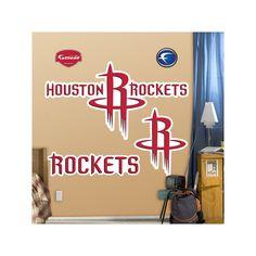 Fathead Houston Rockets Logo Wall Decals, Multicolor