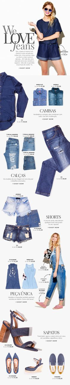 We Love Jeans - Email Newsletter on Behance E-mail Marketing, Email Marketing Design, Email Marketing Strategy, Online Marketing, Content Marketing, Email Newsletter Design, Email Newsletters, Newsletter Ideas, Email Design Inspiration