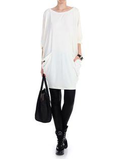YY.FASHION Sukienka luźna z kieszeniami Kimono, Normcore, Tunic Tops, Etsy, Women, Style, Fashion, Gowns, Swag