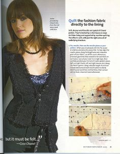 """Chanel Jacket """"Threads 121"""" (Pg 2) 