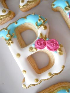 B for beautiful cookies