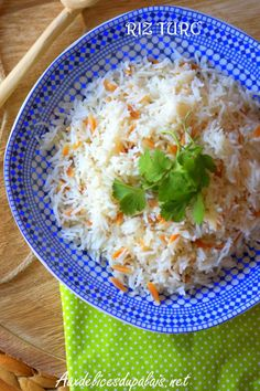 recette riz au beurre turque Turkish Kitchen, Turkish Recipes, International Recipes, Rice Recipes, Risotto, Ramadan, Curry, Couscous, Food And Drink