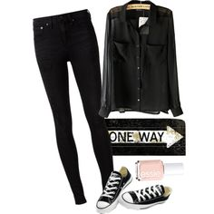 One Way by ttauh on Polyvore