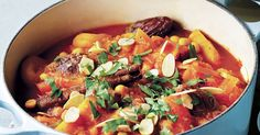 Brighten up a winter's day with a vibrant vegetable tagine. The slow, gentle cooking brings out the sweetness of golden root vegetables such as carrots and kumara, accentuated by the natural sweetness of apricots, dates and honey, with the nuttiness of chickpeas for protein. Add a spoonful of aromat