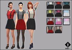 Better Love Dress with 3D suspenders at Jocker Sims