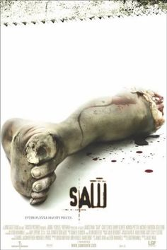 Saw (2004) Directed by James Wan. Its hard not to hear about this movie franchise. In my opinion this is the only one out of the franchise worth watching. I like gore but they get repetitive.