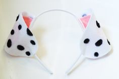 Laughing Latte - DIY Felt Dalmatian Ears - Laughing Latte