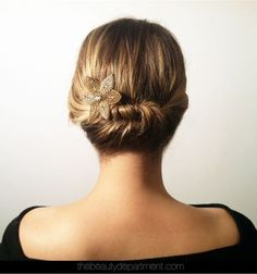 Quick Updos – 20 Ways To Style Your Hair Fast And Pretty