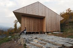 Completed in 2016 in Hol, Norway. Images by Knut Bry. A cabin for use all year. Situated 1066 meters(3,500 feet) above sea level, mid-way between Oslo and Bergen, at the foot of the mighty Hardangervidda...