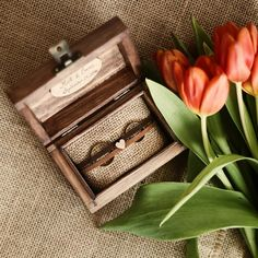 Wooden ring box in boho style - lovely detail for your wedding day. ♡ After used as ring holder, the jute pillow can be removed and you can have a keepsake box. Let us know how would you like to personalize box: ✽ You can choose what would you prefer inside the box: - two little hearts: with your initials - heart shape: with your initials and the wedding date - oval shape: with your names / initials and the wedding date The text is handwritten. ✽ Outside: two little hearts --------------...