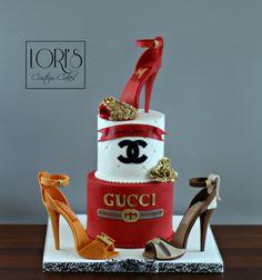 Fabulous and Divine at 50 by Lori Mahoney (Lori's Custom Cakes)