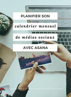 Je vous partage ma méthode pour planifier son calendrier mensuel pour l'ensemble de ses médias sociaux avec Asana afin d'avoir une vue globale de l'ensemble de ses publications. #socialmedia #mediassociaux #reseauxsociaux #business #entrepreneur #planification