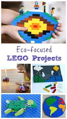 LEGO activities for Earth Science or Earth Day - great environmental projects!