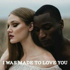 Black Man White Girl, Black And White Couples, Black And White Love, Black Guys, White Girls, White Women, Black Men, Interracial Couples Quotes, Interracial Family