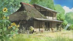 In this video, Studio Ghibli's background painting master Kazuo Oga demonstrates how he paints a misty landscape.