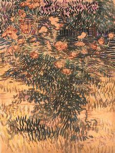 Vincent Van Gogh - watercolor
