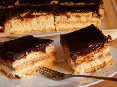 A kekszes krémes egy szuper egyszerű és igazán isteni sütés nélküli desszert, amit nagyon gyorsan te is elkészíthetsz!Kápráztasd el a vendégeidet ezzel a fantasztikus kekszes krémessel! Biztosan mindenkikér majd Hungarian Desserts, Hungarian Recipes, Cake Cookies, No Bake Cake, My Recipes, Tiramisu, Food And Drink, Sweets, Snacks