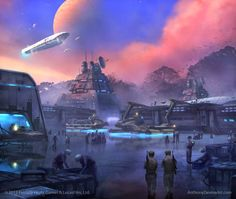 Onslaught at Arda-1 - Starting Anew by Anthony Devine by AnthonyDevine.deviantart.com on @deviantART