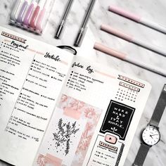 Beautiful spread by Amanda Lee (@amandarachdoodles). Kawaii Pen Shop