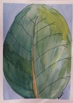 Doodlebug Dabblings: watercolors inspired by nature