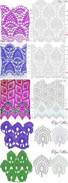 http://crochelinhasagulhas.blogspot.com.au/2018/01/pontos-em-croche.html