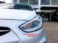 Matte Black Finish M/&S Front Lip Air Dam for Hyundai Accent//Verna 2011+