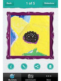 Pocket Gallery iPhone App   (Parents Magazine July 2012)