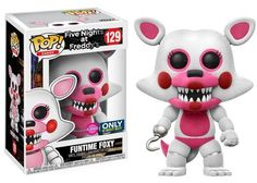 Even more Five Nights at Freddy's and Five Nights at Freddy's Sister Location exclusives are coming your way. Articulated Action Figure: Five Nights at Freddy's - Baby (Glow) Articulated Action Figure: Five Nights at Freddy's – Sister Location Lolbit Collect both Action Figures at Walgreens. Coming in September. Pop! Games: Five Nights at Freddy's - Jack-O-Bonnie(Glow) Available at Barnes & Noble in September.  Pop! Games: Five Nights at Freddy's - Funtime Foxy (Flocked) Coming ...