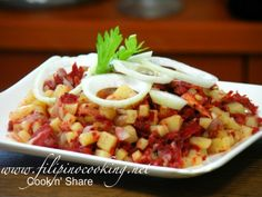 Corned Beef Hash (Filipino Style)