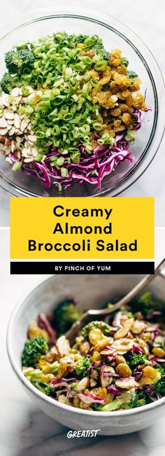 It's time to think beyond steamed broccoli, because the stalk can offer so much more than meets the eye. From crunchy appetizers to creamy entrees, this vegetable is about to show you what it's really made of. Best Broccoli Recipe, Broccoli Recipes, Veggie Recipes, Salad Recipes, Cooking Recipes, Healthy Recipes, Healthy Breakfasts, Cauliflower Recipes, Cooking Ideas