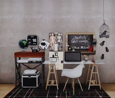 MarcusSims91 Coral Office Updated + New ConversionsIt has been almost an year since my first conversion, back then Sims4Studio didn't have the option to add more swatches or some other great and useful tools that it has now, also since then I've also...