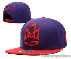 Maybach Music Group MMG Snapback Purple/Red|only US$8.90,please follow me to pick up couopons.