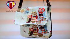 Bolsa de tecido Glaucia - Cursos e vendas de bolsas de tecido é no Maria...