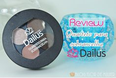 Review do quarteto para sobrancelha da Dailus Link: http://www.blogflordemulher.com.br/2015/09/review-quarteto-para-sobrancelha-dailus.html